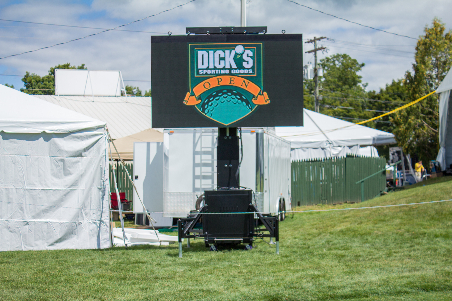 LED Video Screen Rental for Golf Tournaments