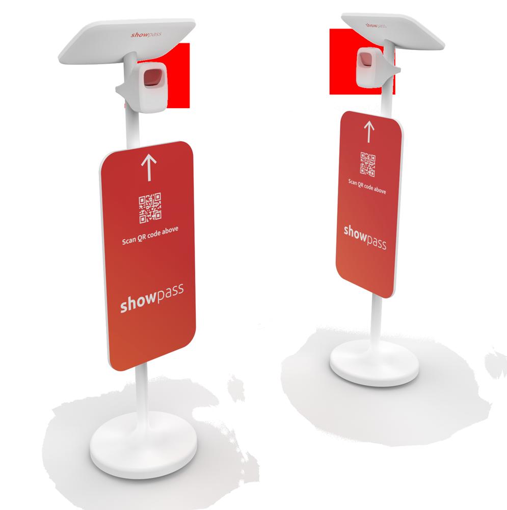 Digital gate ticket scanners
