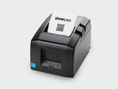 Bluetooth Printer for Event ticketing