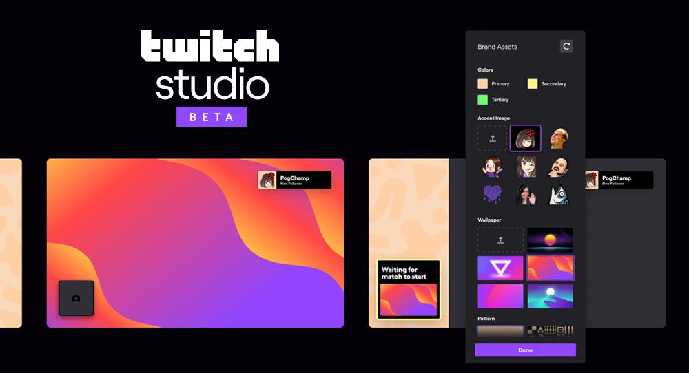 twitch studio beta screenshot