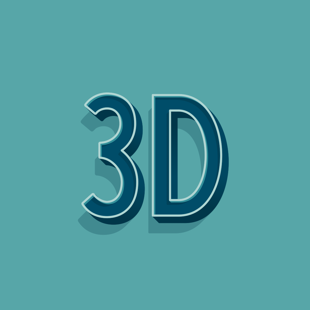 3D Animated Lettering