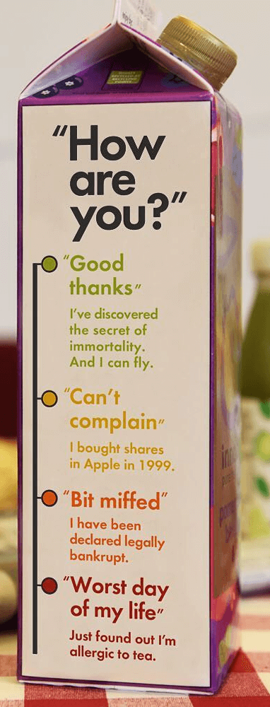 innocent drinks copywriting
