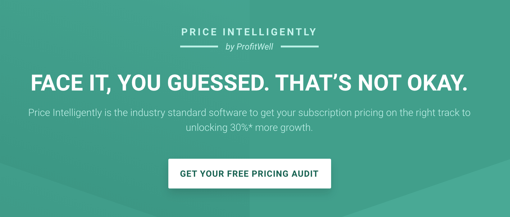 Price intelligently website copywriting