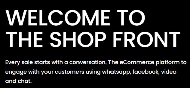 The Shop Front Headline