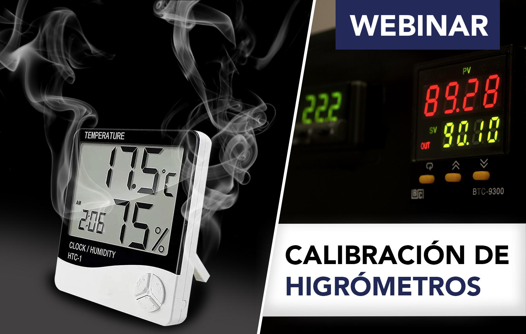 Calibración de higrómetros