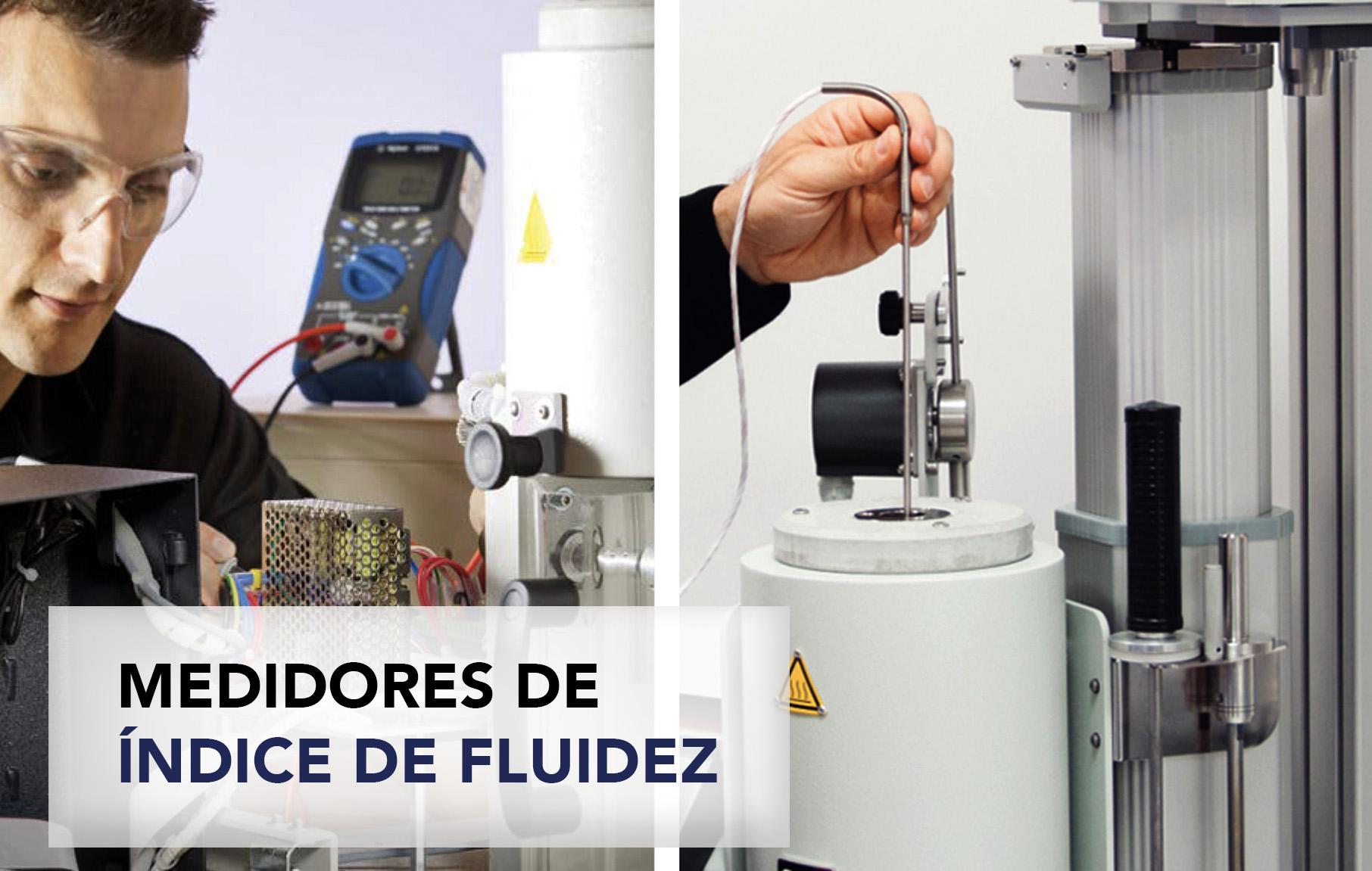 Medidores de índice de fluidez