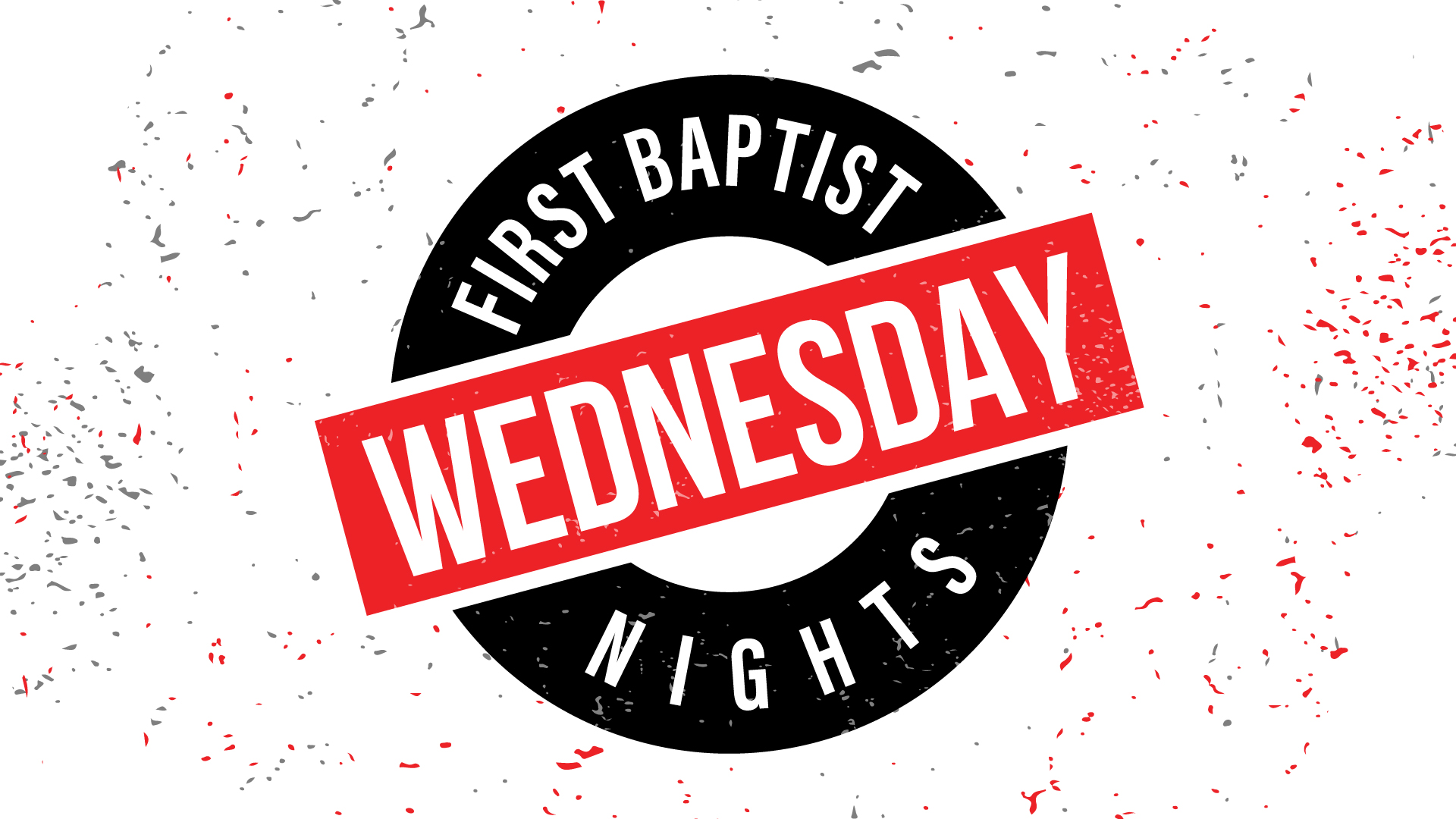 Wednesdays at First Baptist