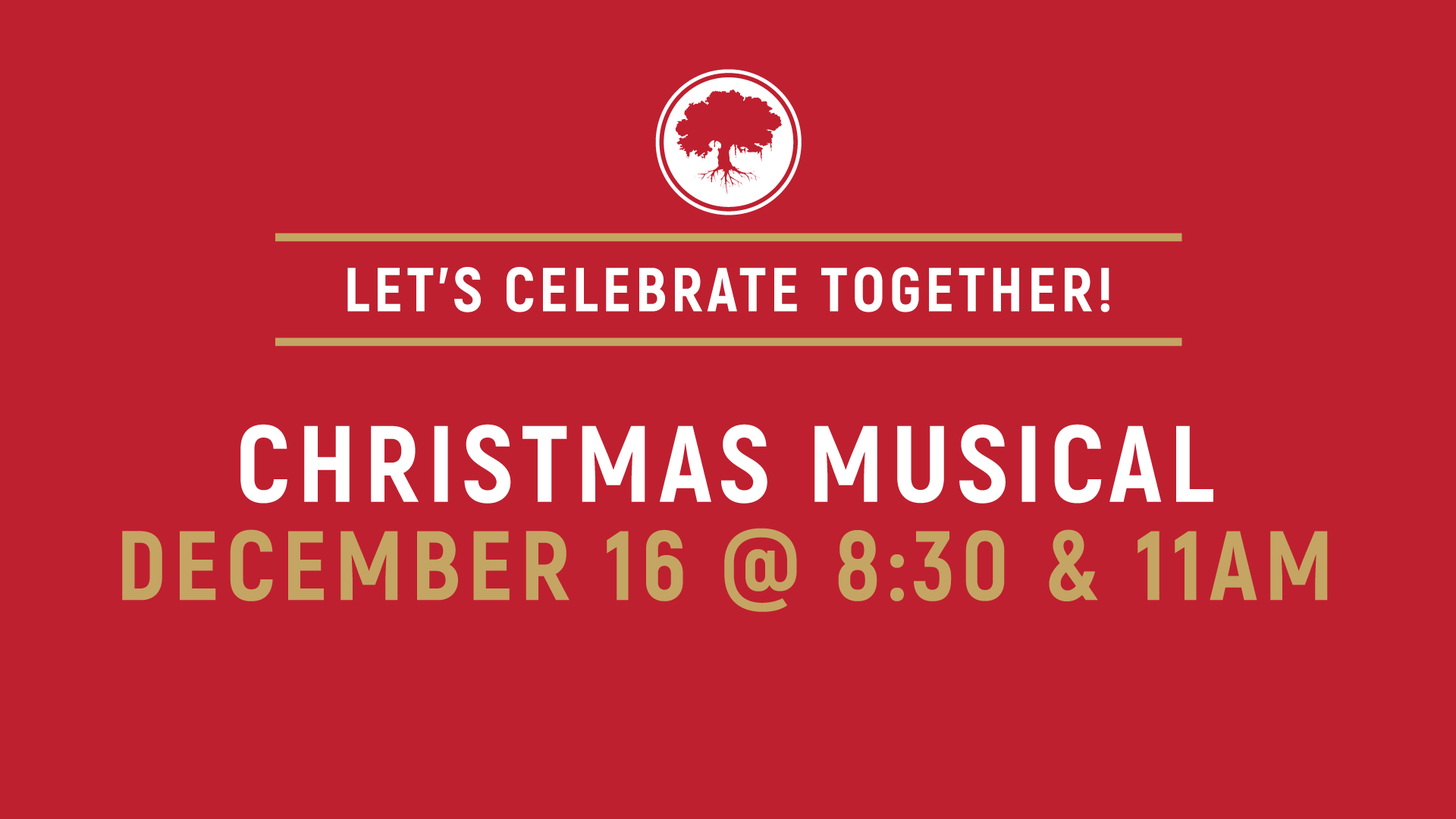 """Christmas Musical •""""One Quiet Night"""" presented by our Worship Choir and Drama Team"""