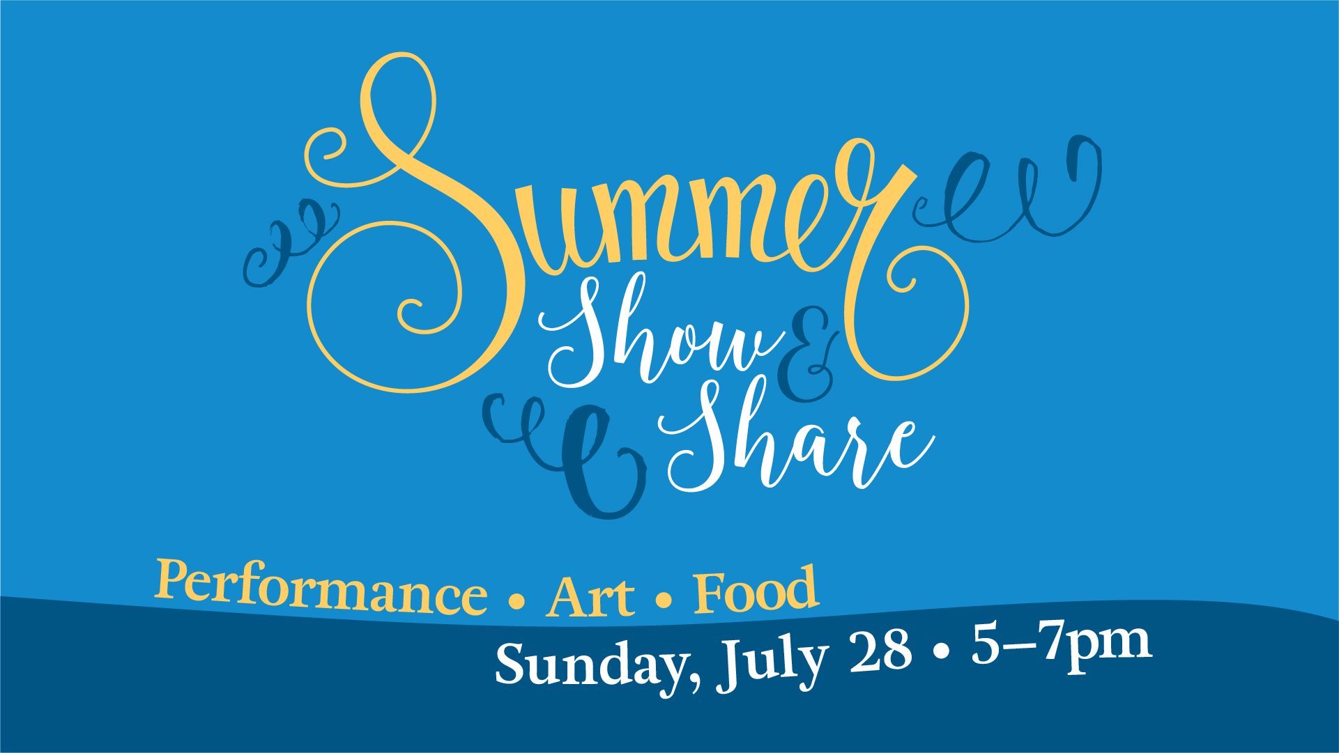 Summer Show and Share 2019