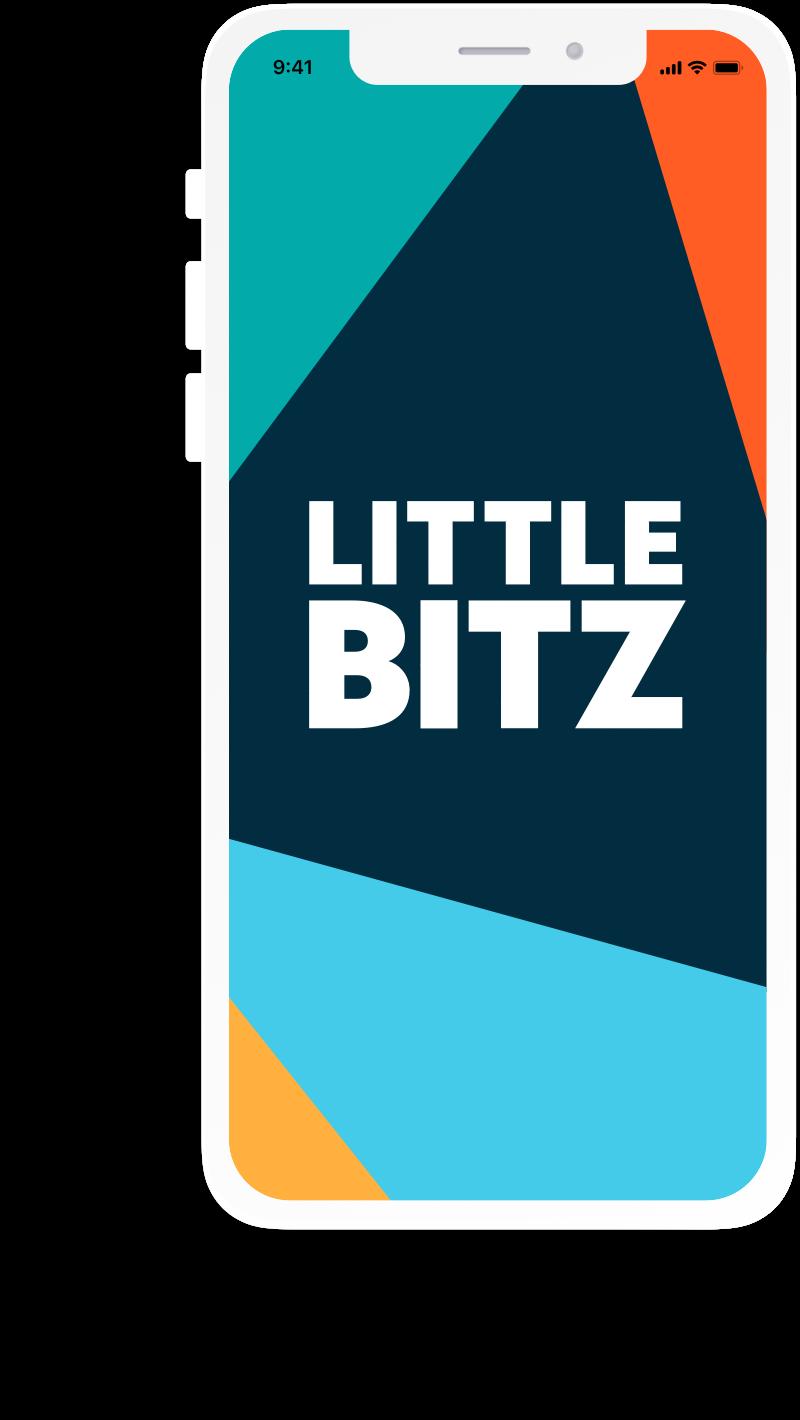 A screenshot of the Little Bitz app opener