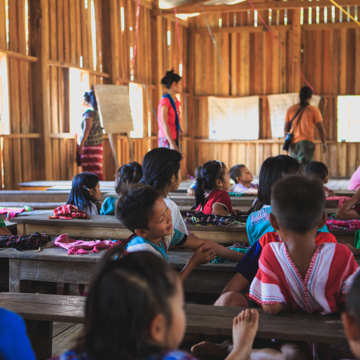 Photo of children in a classroom
