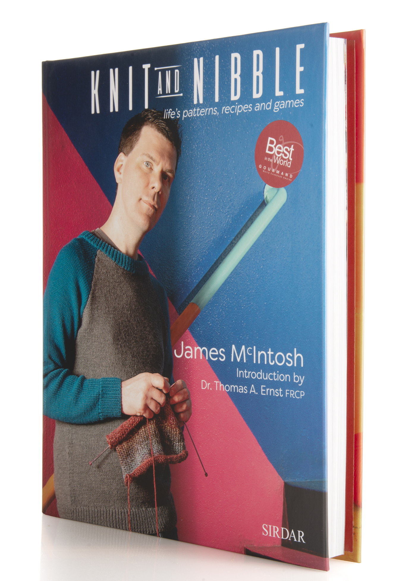 Knit and Nibble by James McIntosh and Dr Thomas A. Ernst FRCP