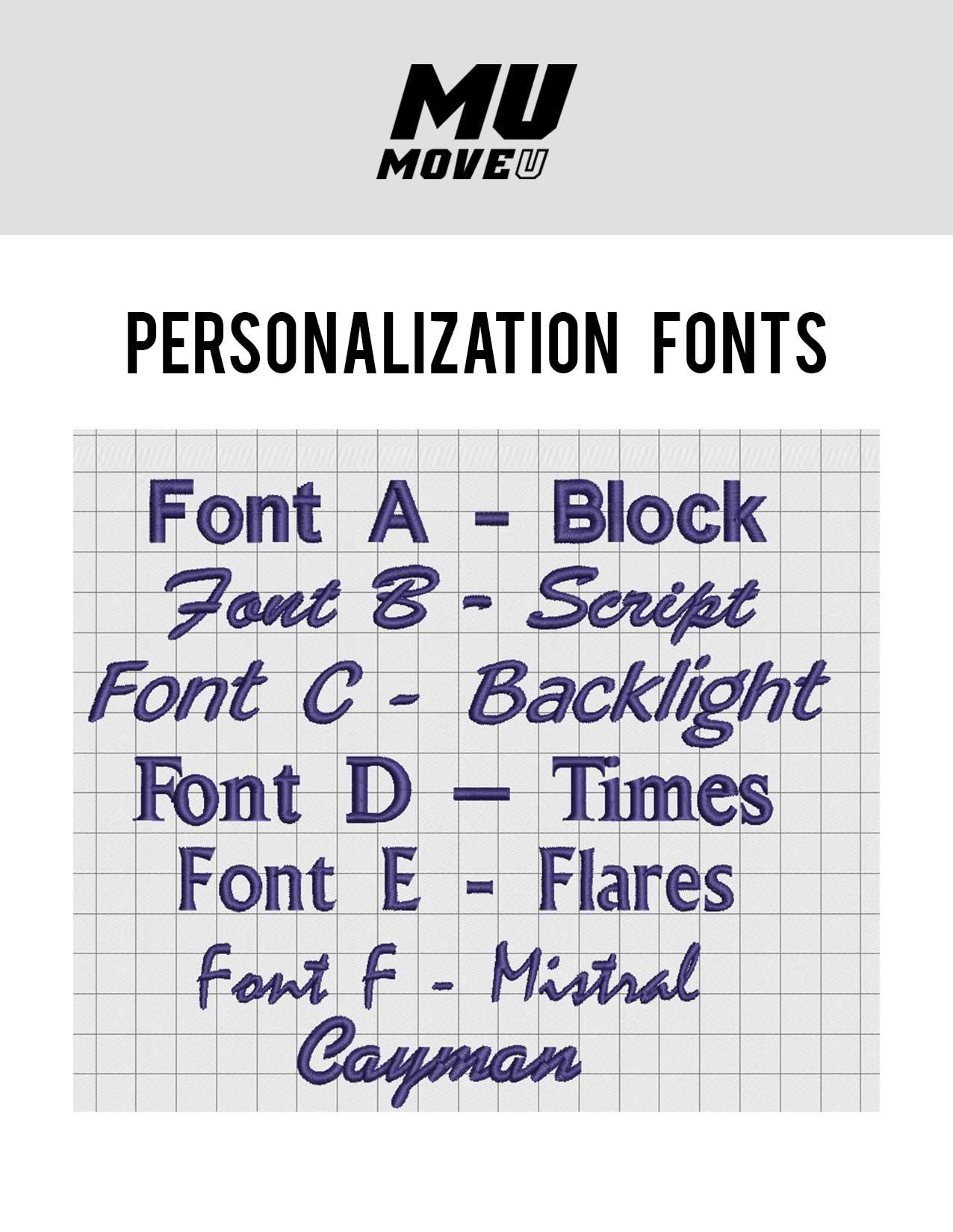 Personalization-fonts