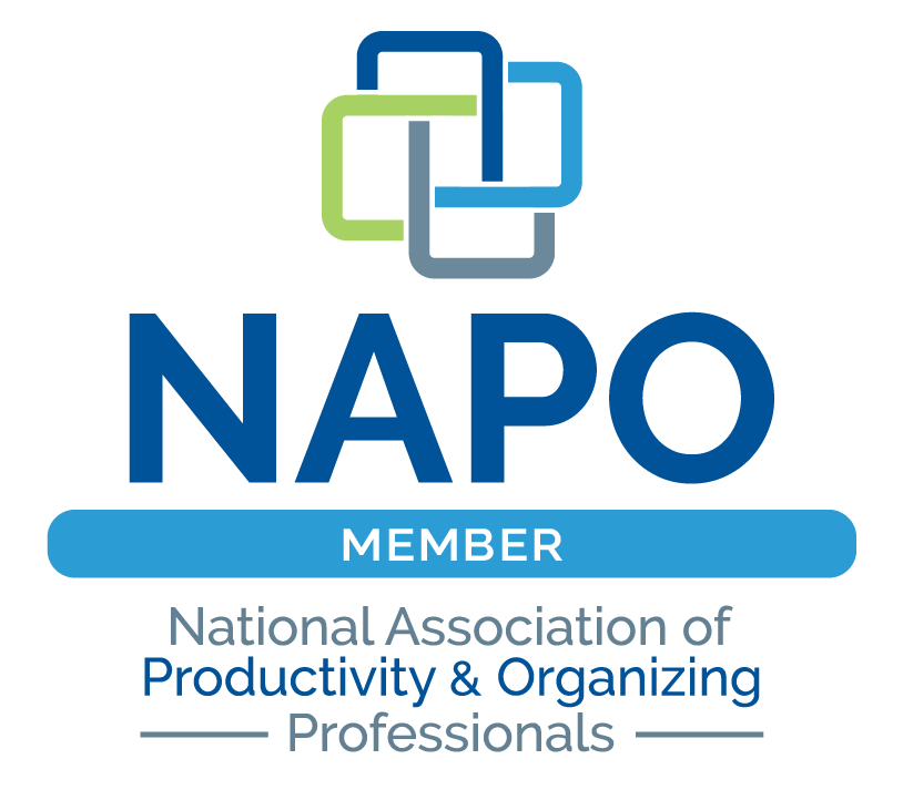Member of NAPO - National Association of Productivity & Organizing Professionals