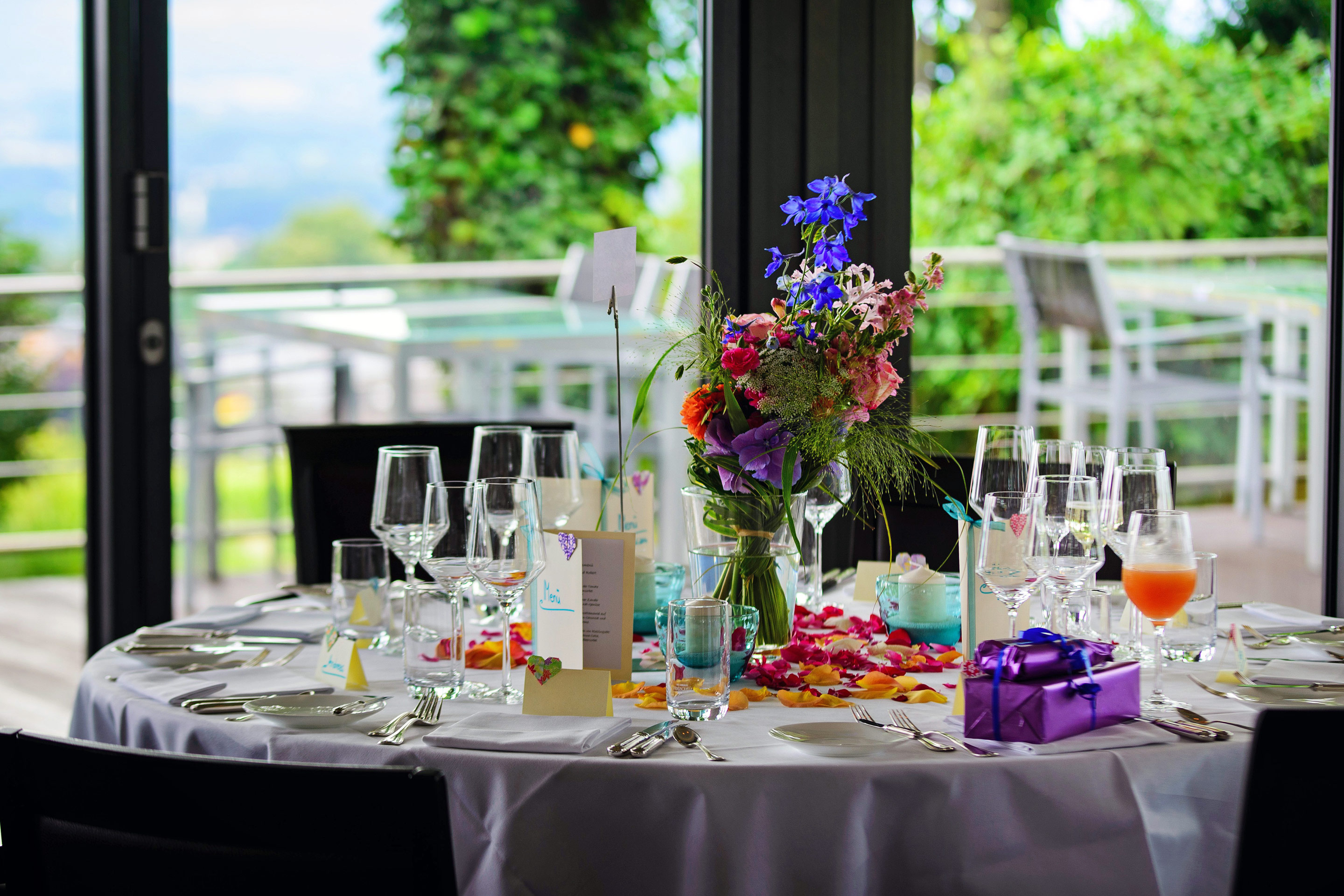 Photo of A Table At A Banquet