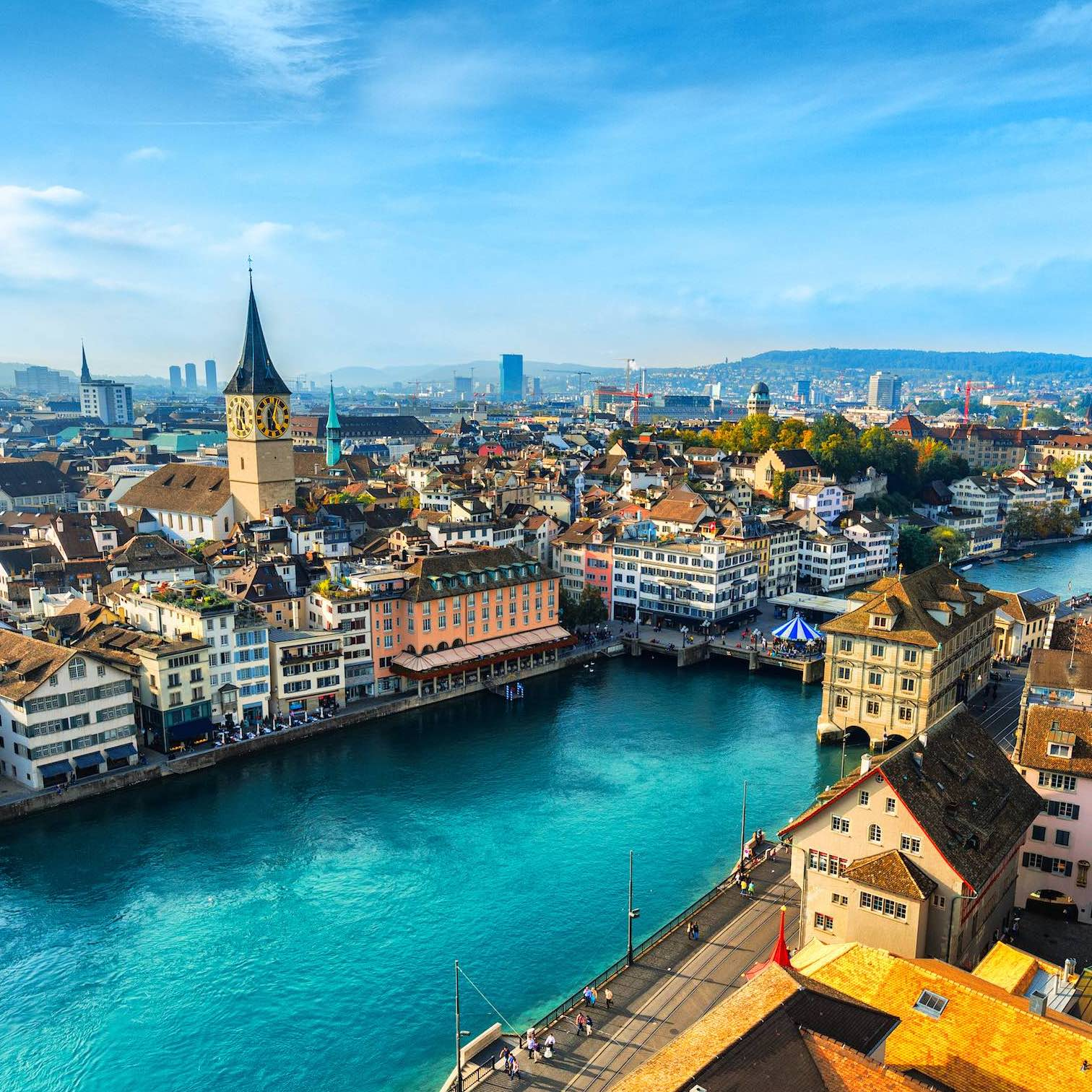 picture of zurich