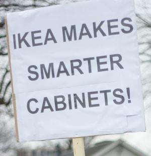 Ikea makes smarter cabinets