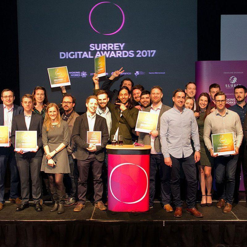 surrey digital awards winners ceremony