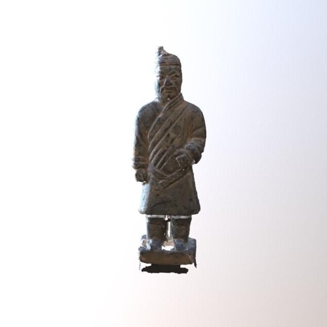 Museum object in 3D