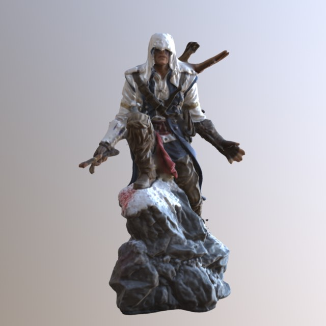 Ezio of Assassin's creed 3D scanned