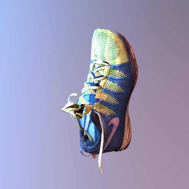 3D Capture of a sneaker