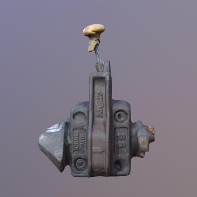 Twistlock 3D Scanned