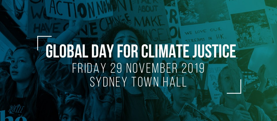 Sydney Global Fight for Climate Justice, Chaos Theory joins the Sydney climate strike on November 29 2019 at Townhall.