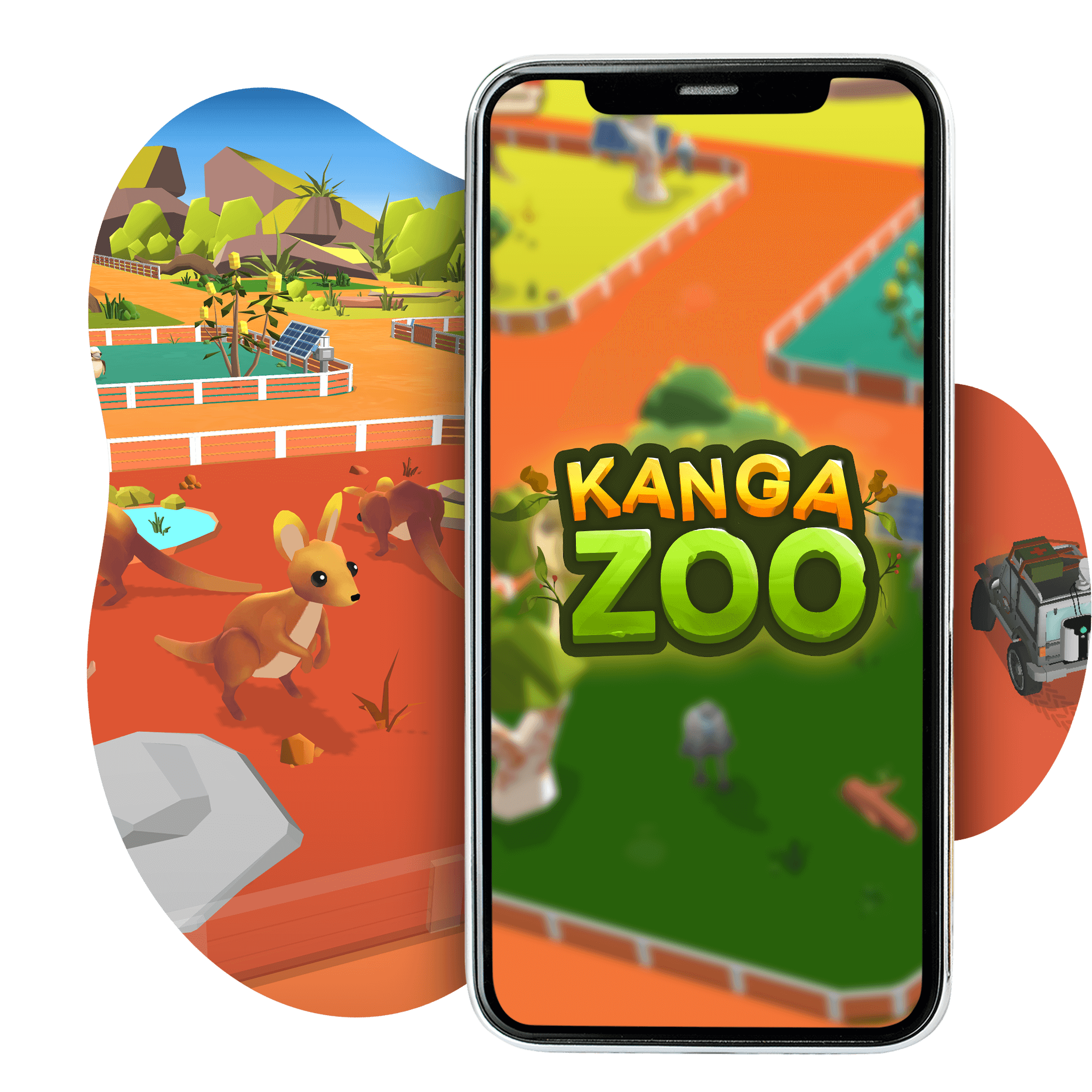 Thumbnail image of KangaZoo, a mobile simulation game that promotes the beauty and diversity of Australian wildlife. Developed by The Department of Foreign Affairs and Trade, Pentaquest and Chaos Theory