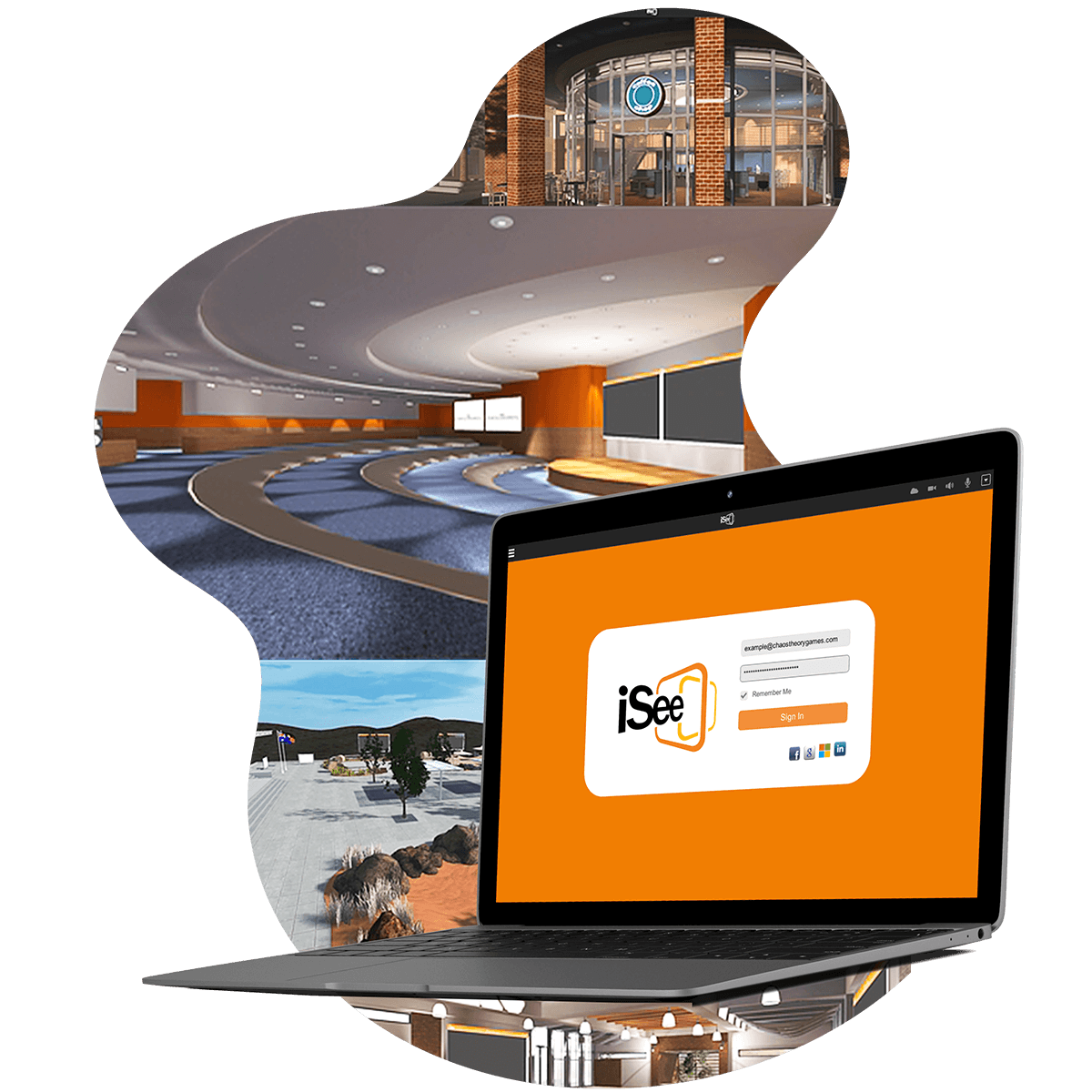 iSee is a video collaboration platform that facilitates flexible education within a virtual environment.