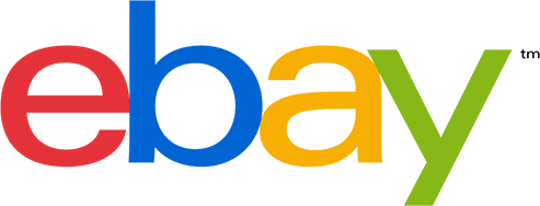 A Logo for eBay, a global shopping platform