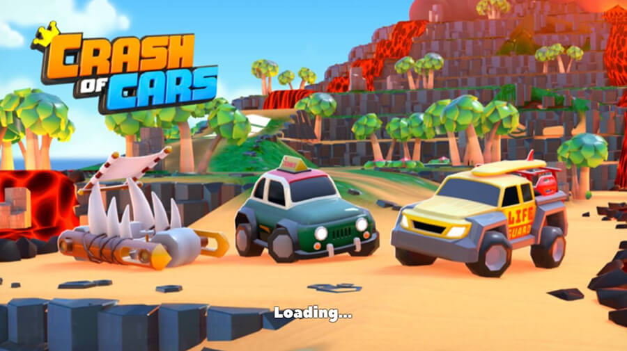 A screenshot from the game Crash of Cars by Not Doppler