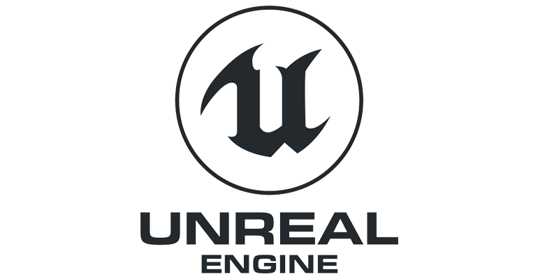 An image of the game engine Unity's logo