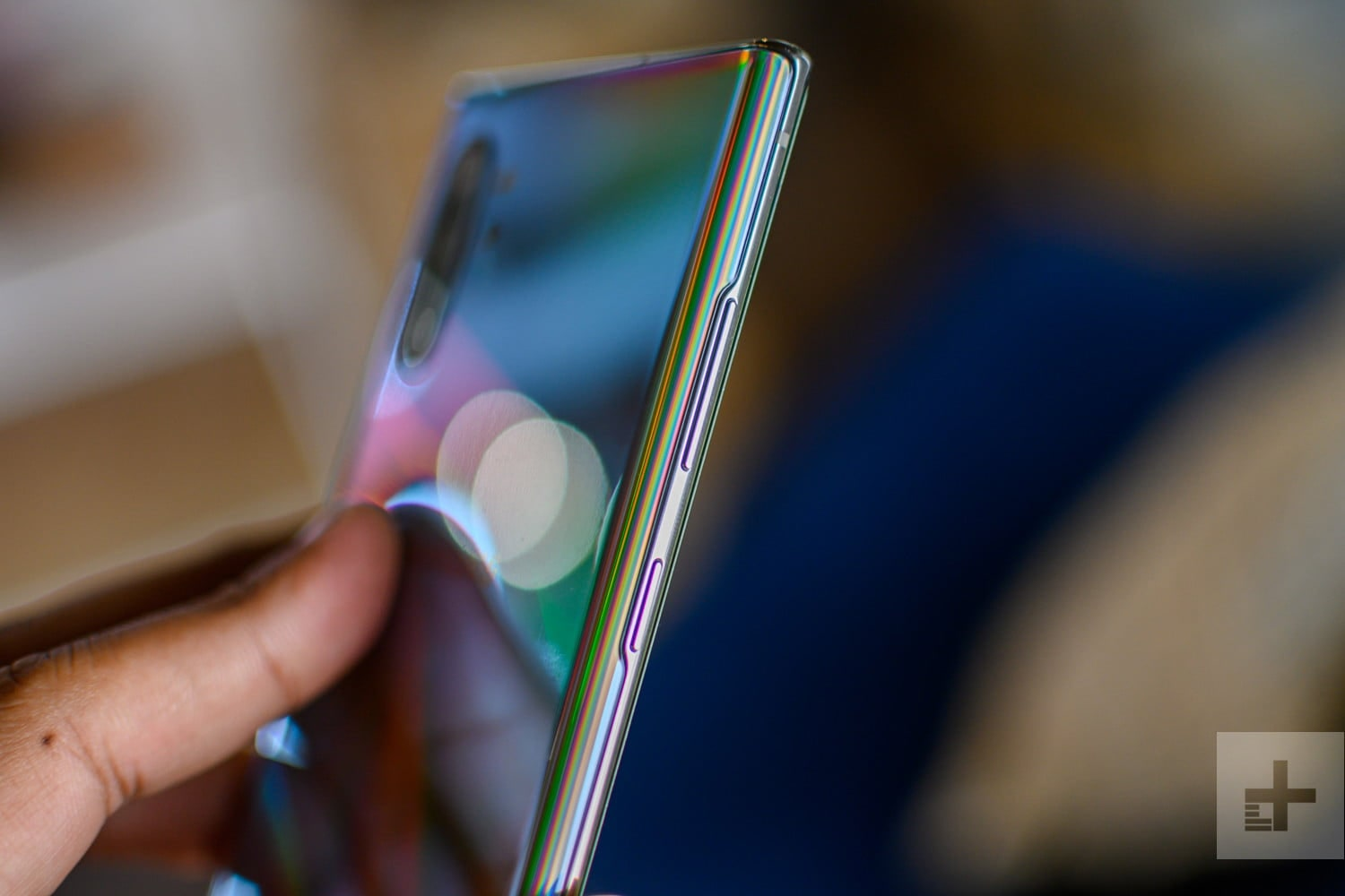An image of the Samsung Galaxy Note10 in the Sydney Samsung Flagship Store on George Street 2019