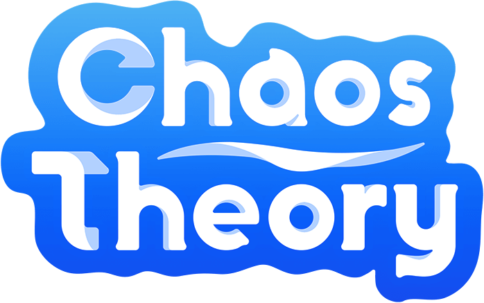 Logo for Chaos Theory Games, Sydney's leading mobile game developers.