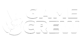 A logo for Game Crew, a collaborative mobile game development company in Sydney Australia
