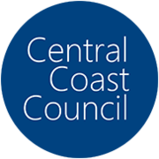 A Logo for Central Coast Council, local government area serving the Lower Hunter area and the Central Coast region of New South Wales, Australia.