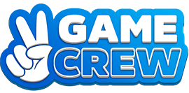 A Logo for Game Crew, a game development studio
