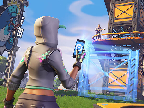 A title screen from the Fortnite Creative Mode by Epic Games. Based on the popular game Fortnite Creative Mode is a new mode that allows players to create their own content in the Fortnite universe alongside their friends.  - Chaos Theory | Serious Games Developer, Australia