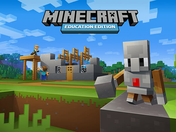 A title screen for Minecraft Education Edition by Microsoft. Based on the smash hit game, Minecraft EDU Edition engages students with STEM resources and immersing them in the world of Minecraft.  - Chaos Theory | Serious Games Developer, Australia