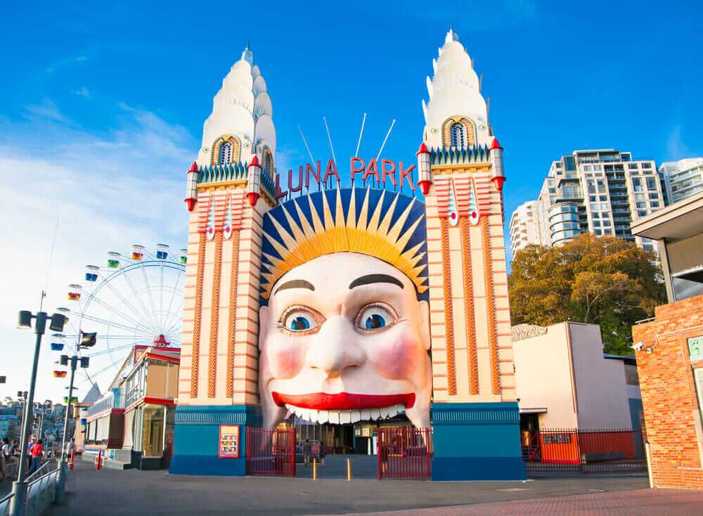 An photograph of Sydney's Luna Park   Chaos Theory Games: Battle Toyale Case Study