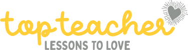A Logo for Top Teacher, An online subscription-based hub to support and empower early childhood educators on their journey to create joyful early learning experiences.