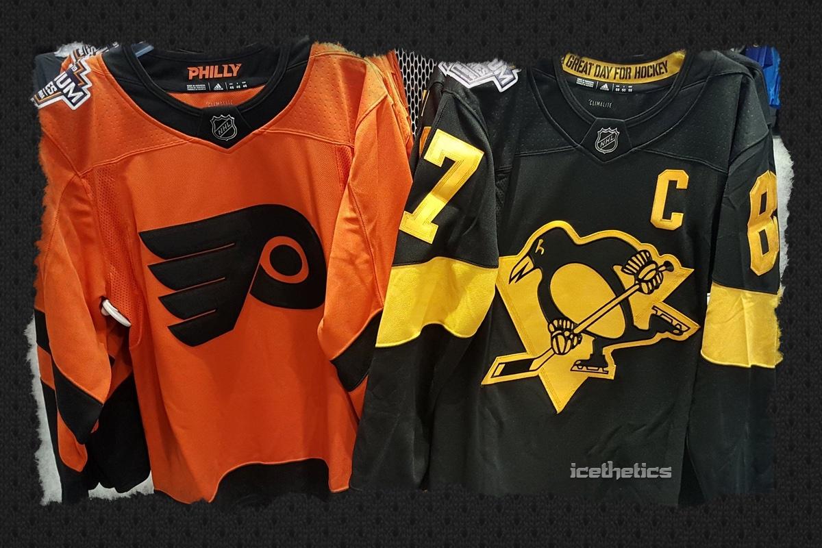 Penguins, Flyers 2019 Stadium Series jerseys leak