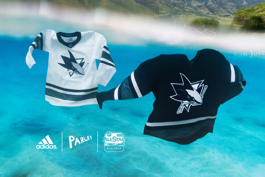 Adidas reveals eco jerseys for 2019 NHL All-Star game