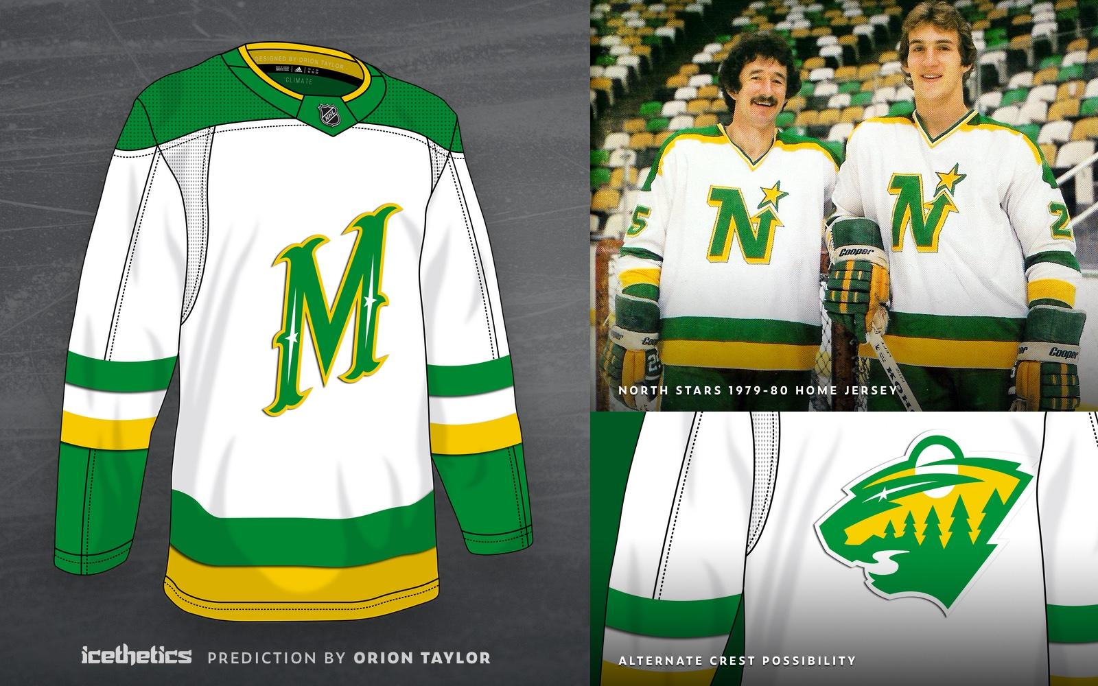 A first glimpse at Minnesota Wild's Adidas Reverse Retro jersey ...