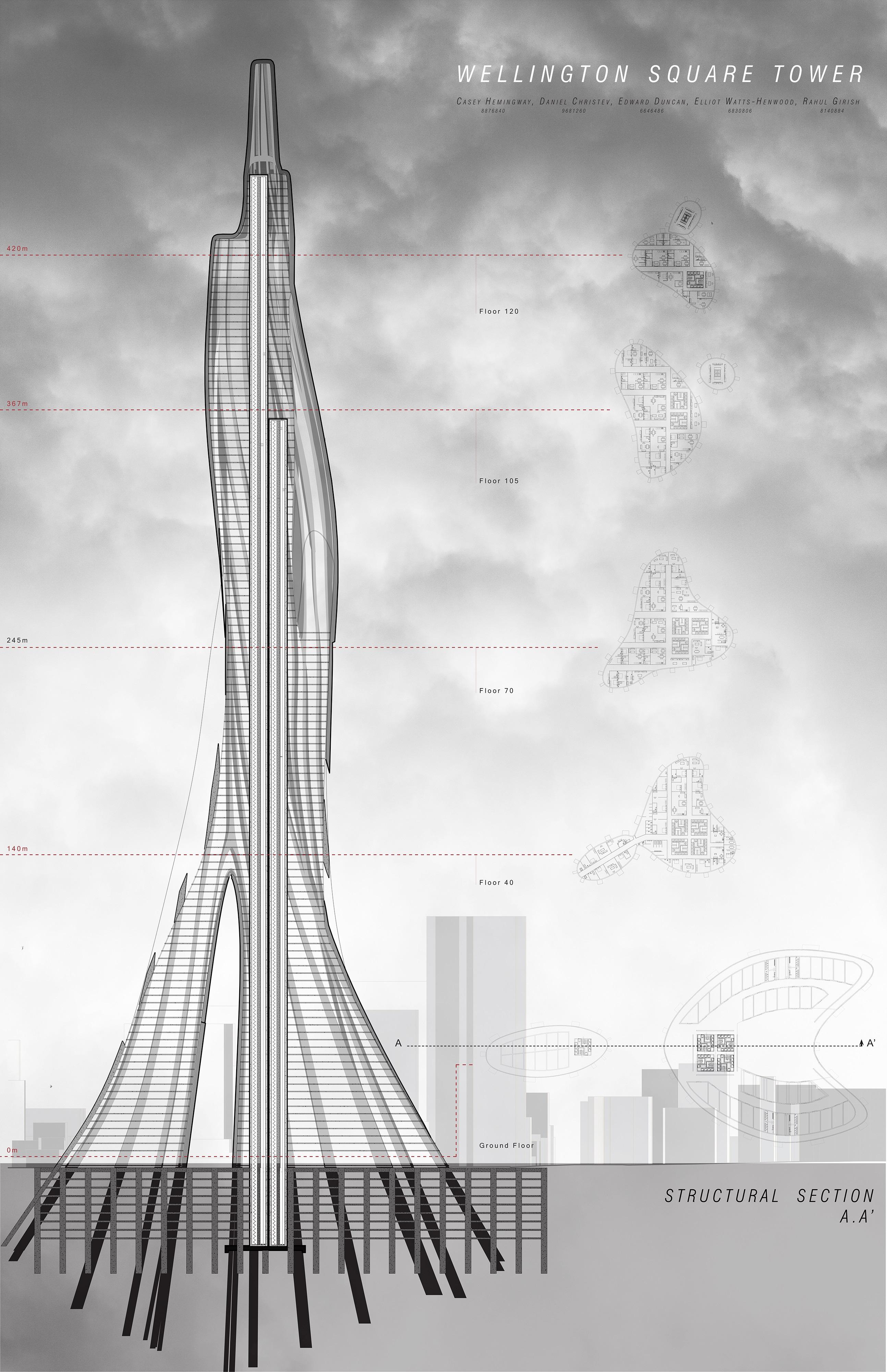 Wellington Square Tower - Rahul Girish