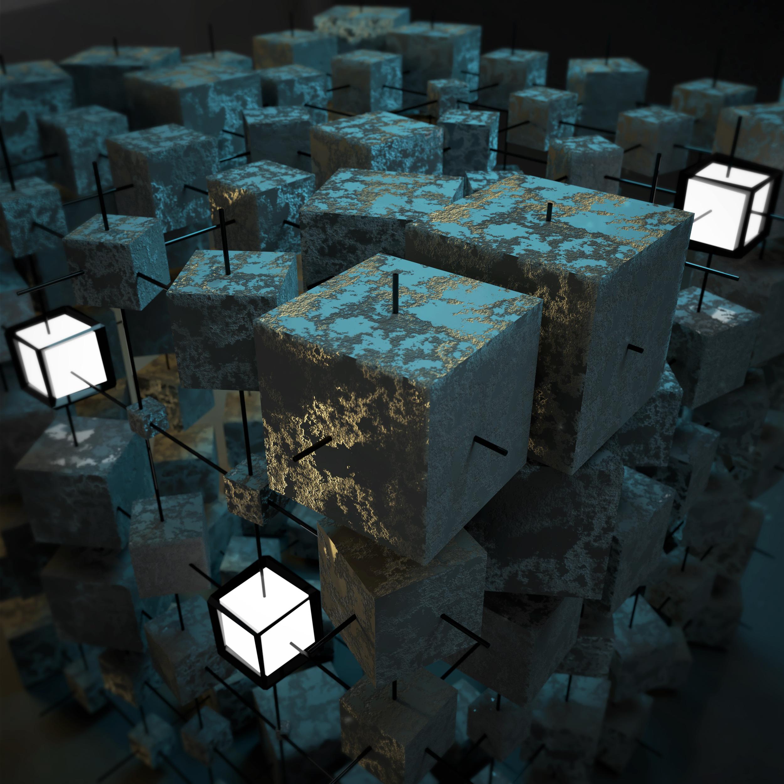 Cubes in motion - Rahul Girish