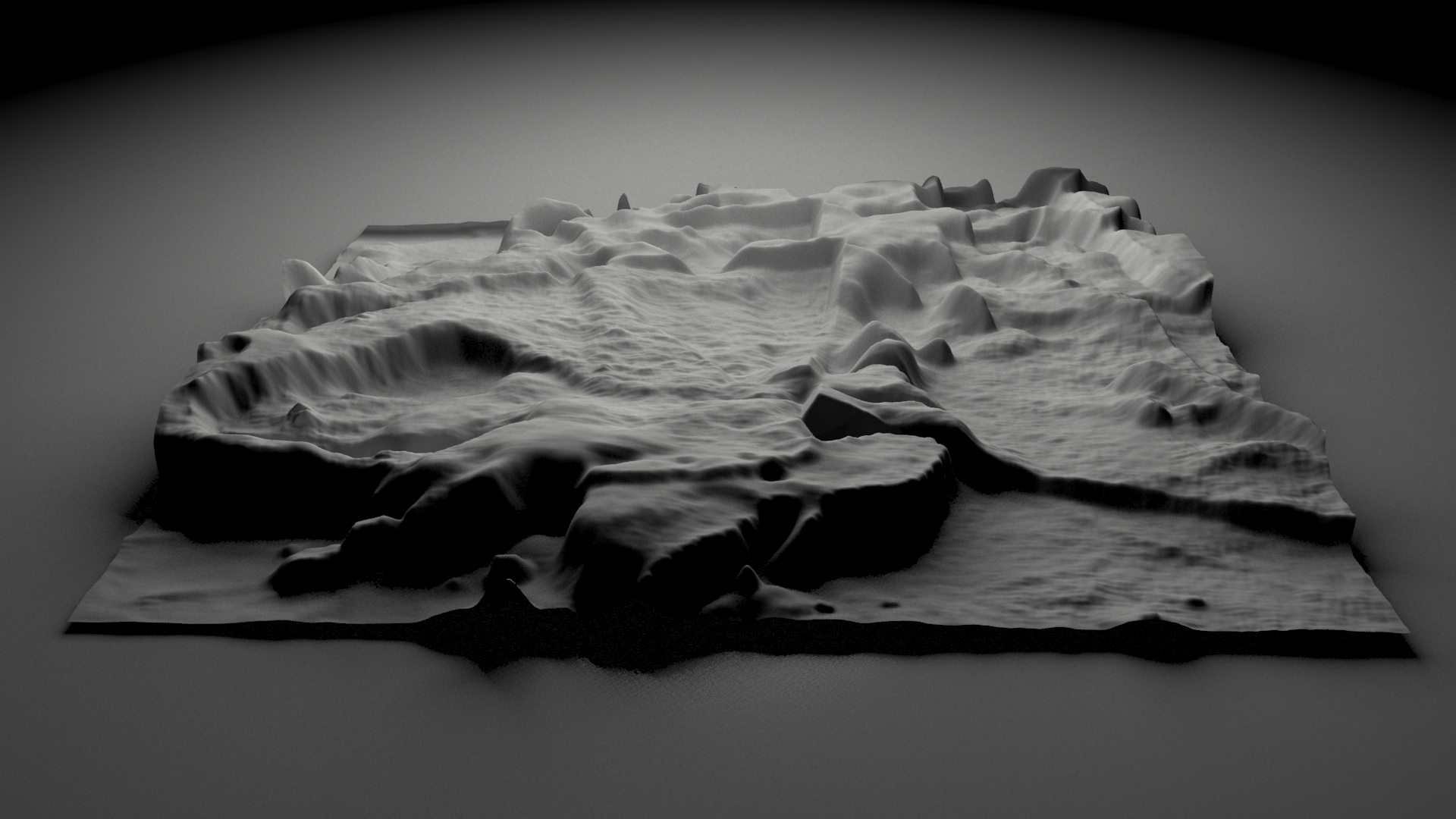 Imagined Landscape - Displacement