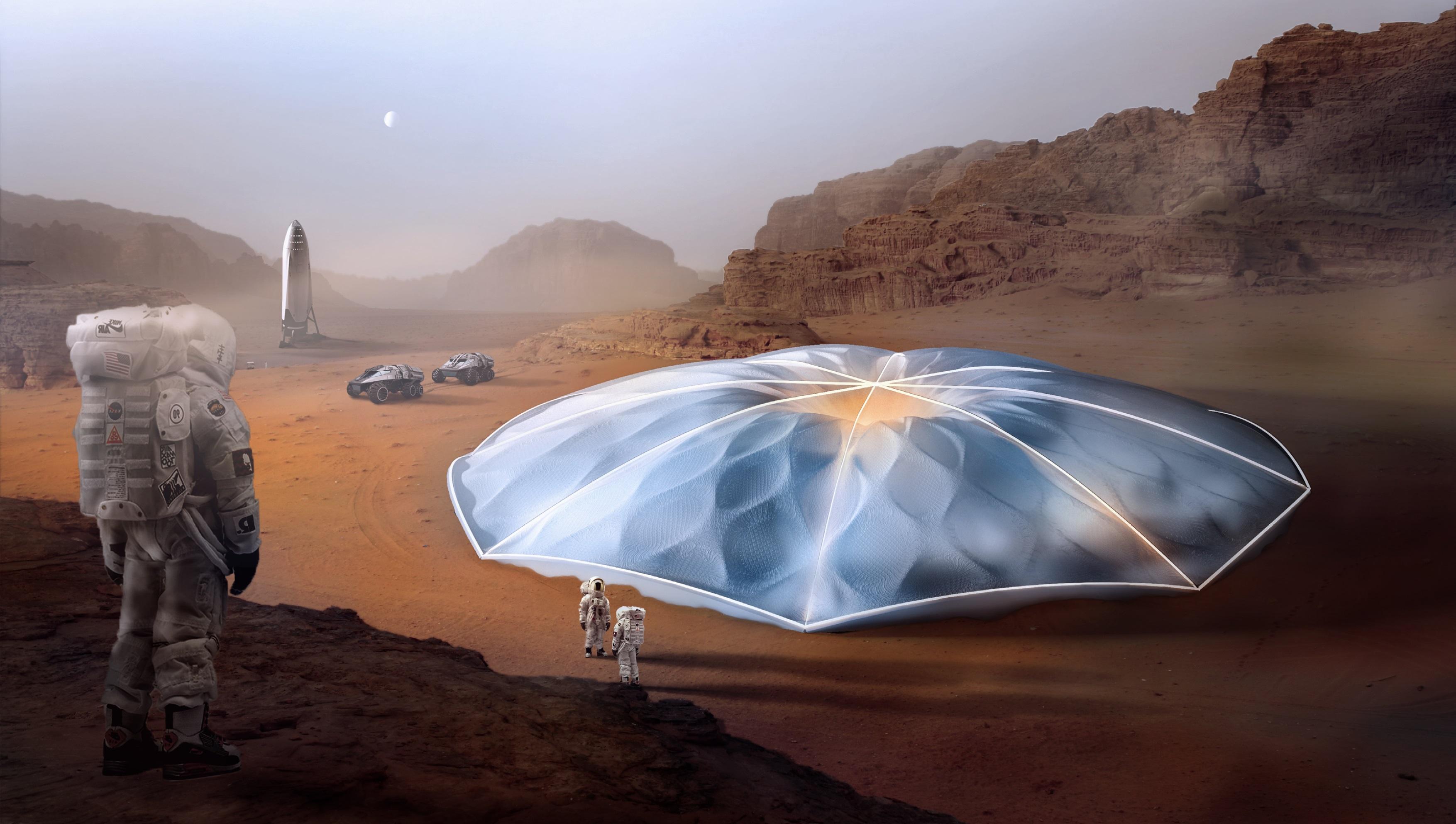 Mars - Habitat