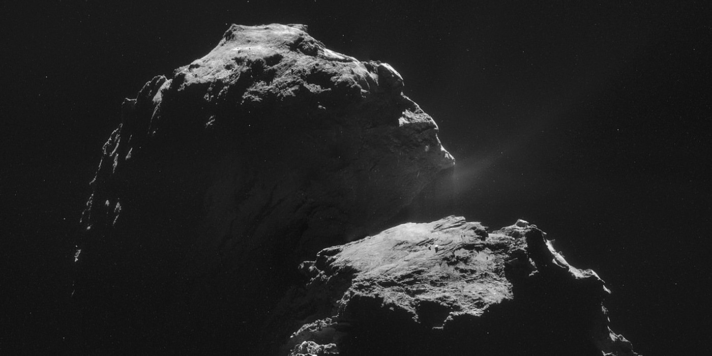 The comet 67P/Churyumov-Gerasimenko