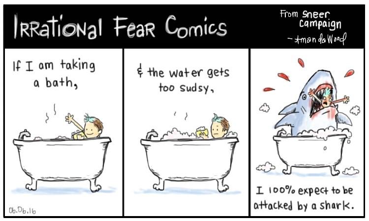 irrational cosmic fear